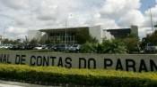 Fachada do Tribunal de Contas do Estado do Paraná