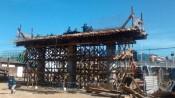Viaduto será entregue em 22 de setembro deste ano, ao custo de R$ 16,7 milhões. Ainda há impasse com as famílias do local (Foto: Márcio Camilo/Comitê Popular da Copa em Cuiabá)