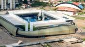 Arena Pantanal, recebeu quatro jogos durante a Copa 2014.